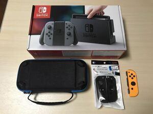 【専用商品】Nintendo Switch 本体 Joy-Con R ネオンオレンジ おまけ付き ニンテンドースイッチ 任天堂