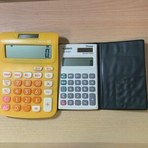 カシオ 電卓 2個