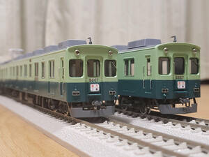 HO ホビーメイトオカ製 京阪5000系 後期車 旧色 7両セット 中古品