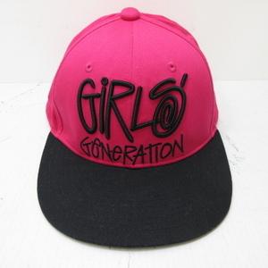 少女時代×ステューシー コラボ キャップ GIRLS GENERATION×STUSSY 帽子 ピンク LOVE&PEACE Japan 3rd Tour
