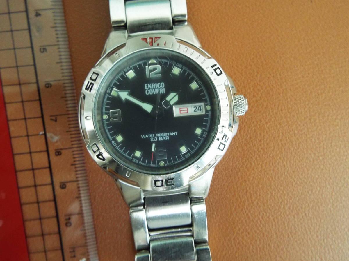 enrico coveri メンズ 腕時計