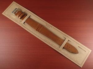CBJL-06a ★新型★ アキュレイトフォルム 艶ありヌメ牛ステア 革ベルト レギュラー ブラウン 16mm、17mm、18mm、19mm、20mm
