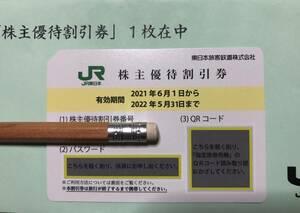1円スタート祭り!★送料無料★JR東日本株主優待・割引券/2022年5月31日期限