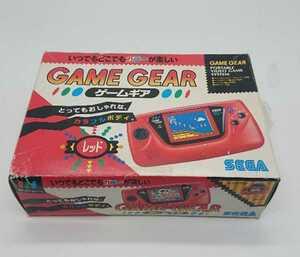 【新品未使用品】SEGA セガ GAME GEAR ゲームギア 本体レッド