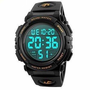 新品特価/Timever(タイムエバー)デジタル腕時計 メンズ 防水腕時計 led watch スポーツウォッチ アEQMW