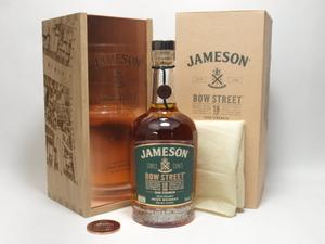 ★★JAMESON BOW STREET ジェムソン ボウ・ストリート 18年 700ml 木箱付★ASH-43491