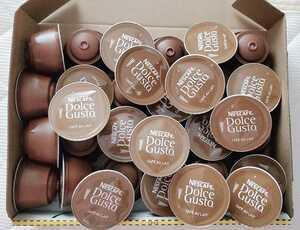 ★ドルチェグストカプセル★カフェオレ 32杯 ★ ネスカフェ コーヒー NDG ミルク 糖質制限の方にも まとめ売り セール 激安 送料無料