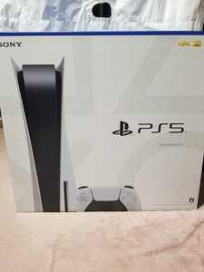 新品 PS5 PlayStation5 プレイステーション5 本体 ディスクドライブ搭載モデル CFI-1100A01