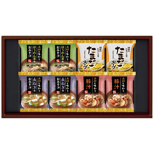 フリーズドライおみそ汁&たまごスープHDN-20 2656-028(l-4983740098406)