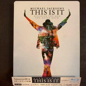 THIS IS IT 【Amazon限定】 (スチールブック仕様/特製ブックレット付き) (Blu−ray Disc) マイケル