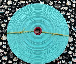 クラフトテープ クラフトバンド エコクラフト  ミント色