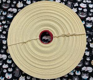 クラフトテープ クラフトバンド エコクラフト  カスタード色