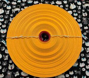 クラフトテープ クラフトバンド エコクラフト  サフラン色