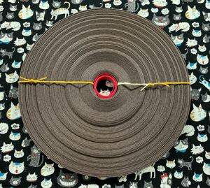 クラフトテープ クラフトバンド エコクラフト  茶/チョココンボ色