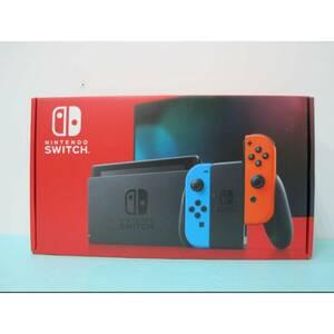 未使用 Nintendo Switch ニンテンドー スイッチ本体 ネオンブルー/ネオンレッド