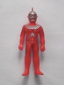 昭和 レトロ ポピー ウルトラセブン 人形 13cm 円谷プロ プラ製 ソフビ ビンテージ ウルトラマン