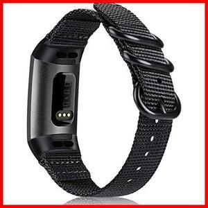 【限定商品】 ★色名:1ブラック★ / 4 3 SE Charge 用 Fitbit バンド ベルト for スポーツバンド 交換用ストラップ Fintie ソフト