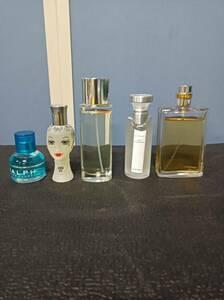 香水5点セット/CHANEL/100ml/BVLGARI/50ml/クリニークハッピー/50ml/ANNA SUI/30ml/RALPH/30ml/残量は写真のとおり/1018j2