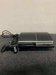 SONY/ソニー/プレステーション3/ゲーム機/2008年製/CHCHL00/80GB/コントローラー有り/電源コード有り/付属品は写真で全て/1009h2
