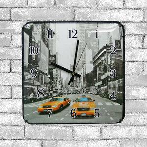 [値下げ]■掛け時計 プラスチック/正方形/時計 3472 A