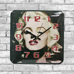 [値下げ]■掛け時計 プラスチック/正方形/時計 3478 D