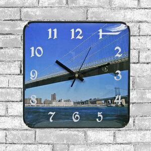 [値下げ]■掛け時計 プラスチック/正方形/時計 3471 D