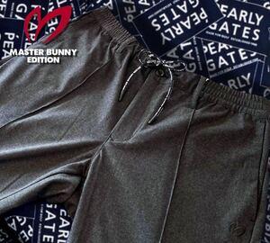本物 新品 23420135 PEARLY GATES パーリーゲイツ/マスターバニー 5(L)超人気 トリコットツイルパンツ 紐付 日本製 setupジャケット別出品