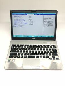 ジャンク品 富士通LIFEBOOK S935/K Core i5-5300U@2.3GHz メモリ4GB/SSD128GB/カメラ/13.3インチFHD