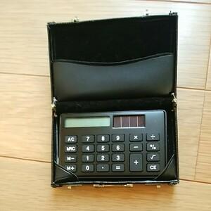 電卓ケース ジャンクの電卓付き