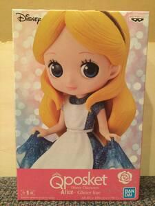 ディズニー Q posket アリス Disney Characters Alice Glitter line Qposket フィギュア プライズ 新品 未開封 同梱可