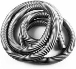 ★2時間セール価格★グレー 集塵ホース TiCoast 帯電防止ホース 掃除機ホース 交換用 32mm内径 39mm外径 掃除機