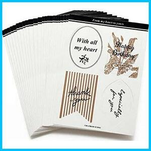 【Free Shipping-Specials】 ★ Color: White ★ Shankou Card Message Card Present Tag 100 Pieces Set Sunkyag (White) [Kong]