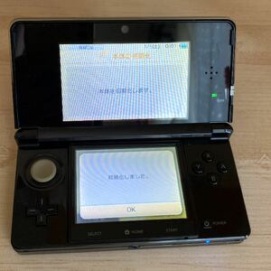 任天堂3DS本体 ニンテンドー3DS タッチペン 初期化