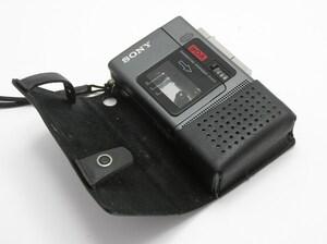 ★ハローカメラ★ 9472 SONY M-88 / マイクロカセットレコーダー (単四電池2本使用) ジャンク 要修理 1円スタート