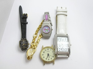 ★ハローカメラ★ 3018 CITIZEN シチズン 含む 腕時計 5個セット メンズ レディース ジャンク 要修理 1円スタート