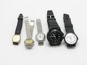 ★ハローカメラ★ 3233 ORIENT オリエント 含む 腕時計 5個セット メンズ ジャンク 要修理 1円スタート