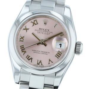 [То же день доставки · среда фиксированный праздник · доставка четверга] [красота товаров] [RI] Rolex Rolex Clock автоматическая рана / женщины 179160 розовый / розовый день SS