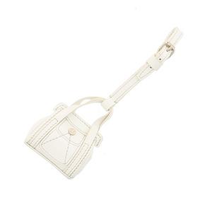 CELINE セリーヌ 小物 キーリング/キーホルダー White バッグ型 チャーム