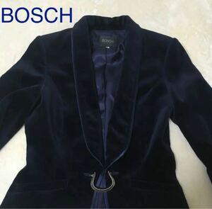 BOSCH ボッシュ テーラードジャケット ベロア素材