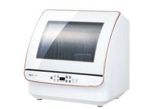 新品★アクア 食器洗い機(ホワイト)【食洗機】【送風乾燥機能付き】 AQUA ADW-GM2-W