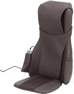 新品■ALINCO(アルインコ) シートマッサージャー 背中マッサージ 3モード切替 (肩・腰・背中) ヒーター機能搭載 MCR2300T ブラック