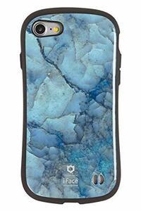 ブルー iPhone SE 2020(第2世代)/8/7 iFace First Class Marble iPhone SE