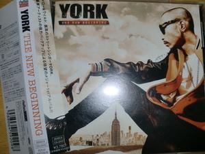 初回盤 YORK [The New Beginning][J-R&B] AK-69 AKLO Infinity16 twenty4-7 詩音 Terry pmx ds455 big ron