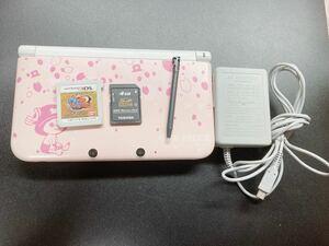 [限定生産]3DS LL 本体 チョッパー ピンク+ワンピースアンリミテッドワールド