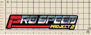 プロスピード PRO SPEED ホログラム ステッカー バイク マフラー オートバイ カスタム パーツ ハンドル オートバイ ストリート モトクロス