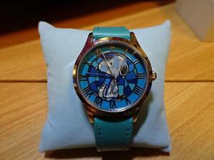 未使用中古腕時計 スヌーピー腕時計 しあわせの青空 I・E・I社