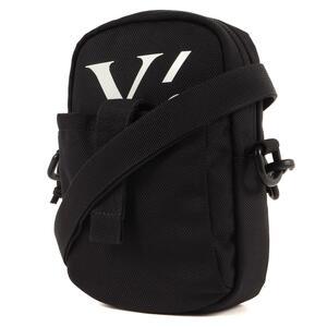 Yohji Yamamoto(Y's) ヨウジヤマモト バッグ NEW ERA ニューエラ Y'sロゴ プリント ショルダーバッグ 19SS ブラック 黒 カバン コラボ