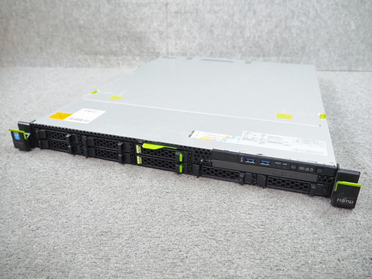 [C] ☆ 大容量32Gメモリ! ☆ Fujitsu PRIMERGY RX100 S8 QC E3-1220 v3 3.10GHz/32G/146GB×2/RAID(D2616) ☆