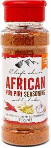 赤 110グラム (x 1) シェフズチョイス アフリカンスタイルBBQシーズニング (有機栽培原料) 110g African
