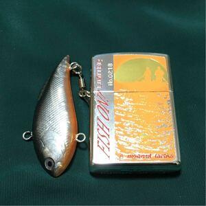ZIPPO FISH ON! ジッポー ルアー 釣り  魚 フィッシュ オン 現状品
